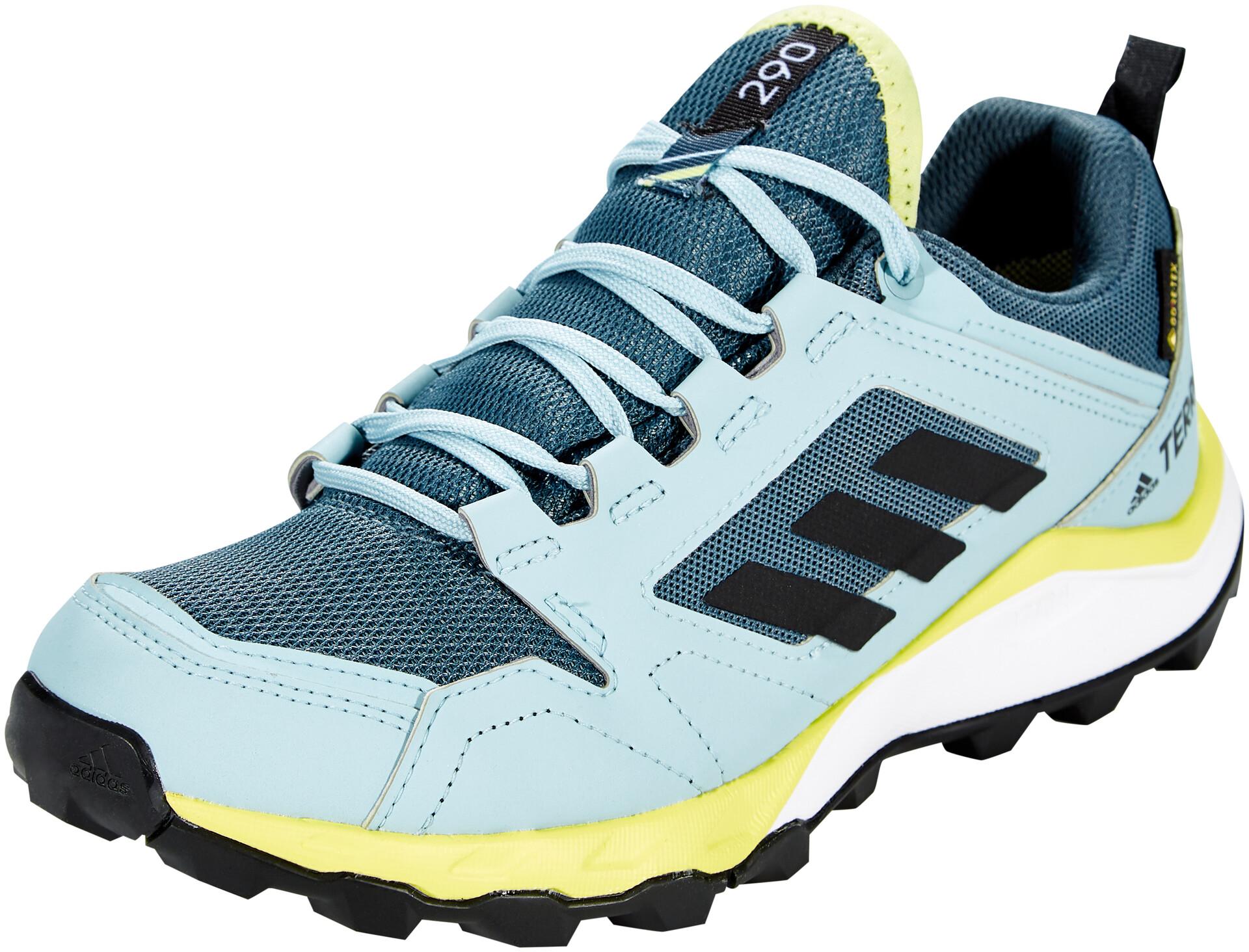 adidas TERREX Agravic TR Gore Tex Scarpe da trail running Donna, legacy bluecore blackyellow tint